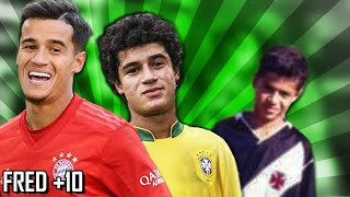 Top 10 - Philippe Coutinho mitando desde moleque