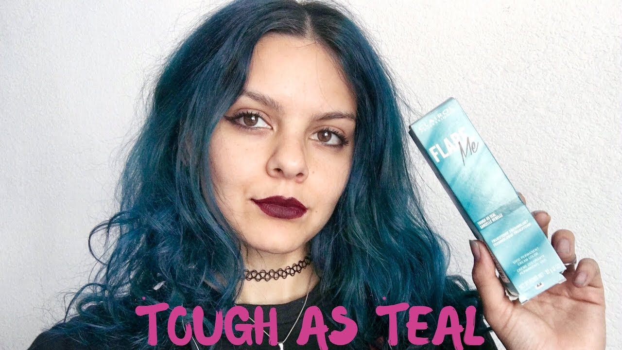 COLORING MY HAIR TEAL | CLAIROL PRO FLARE ME TUTORIAL - YouTube