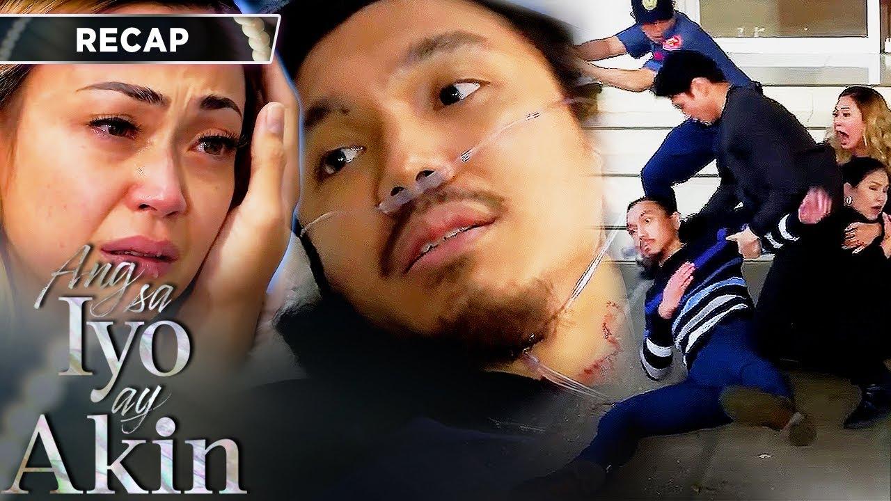 Download Blue takes a bullet for Marissa   Ang Sa Iyo Ay Akin Recap