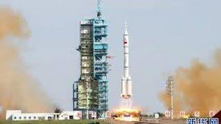 挑戰新聞軍事精華版--中國神舟十號發射升空,「太空教師」吸睛