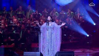 أحلام تتألق على مسرح الرياض بأغنية #ياليل_ياجامع