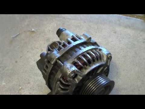 2004 Honda Civic LX Alternator Replacement