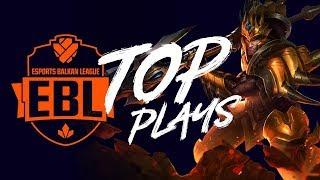 EBL TOP PLAYS - Sezona 4 Kvalifikacije