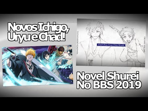 Bleach Brave Souls: Novo Summons Ichigo, Uryu e Chad & Novel do Hisagi Shuhei CONFIRMADA NO GAME!! Omega Play