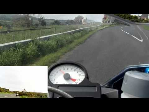 A Motorcycle Trip from from Coleraine to Magilligan
