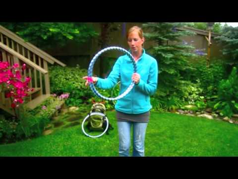 Tutorial: How to collapse a travel hula hoop, figure-8 or infinity