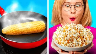 GENIUS KITCHEN HACKS AND FOOD TRICKS || Funny Food DIYs And Pranks by 123 Go! Live
