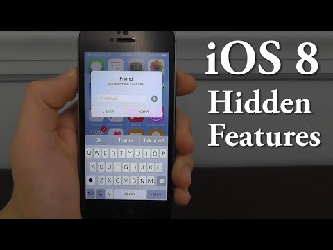 iOS 8 Hidden Features – Top 10 List