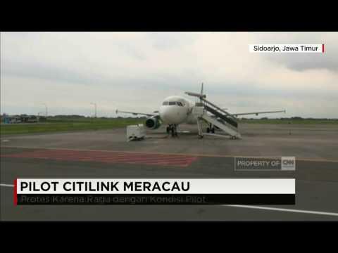 Suara Pilot Citilink Meracau saat Perkenalkan Diri, Penumpang Turun dari Pesawat