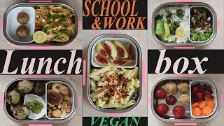 QUICK and healthy lunch box recipes | Indian recipes included!