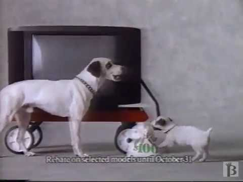 Rca Colortrak 2000 Tv Commercial 1990