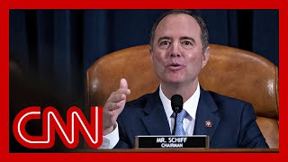 Adam Schiff: 'The evidence is already overwhelming' in impeachment inquiry