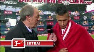 Davie Selke im Interview nach Werder-Spiel | RB Leipzig 3:1 Werder Bremen | Bundesliga EXTRA!