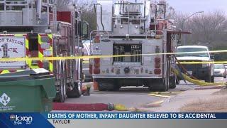 Deaths of woman, 8-month-old in Taylor home not considered suspicious