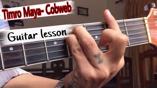 Timro maya Cobweb guitar lesson