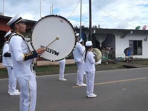 Banda de Música Raúl Stalin - CESF (desfile 17 de Nov.) San Félix, Chiriquí