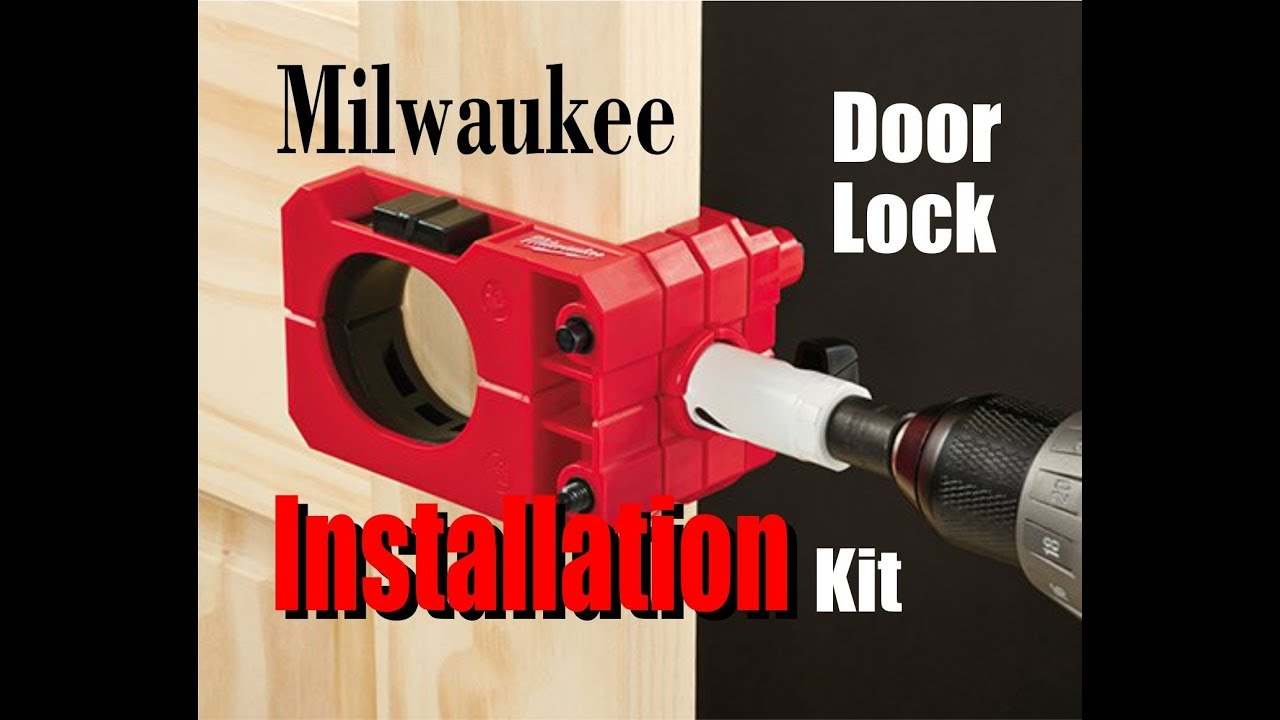drill tool door installation set century saw and kit carbon hole lock wood