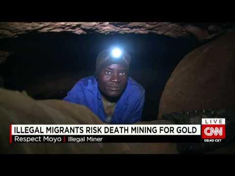 Illegal Migrants Gold Mining Mckenzie