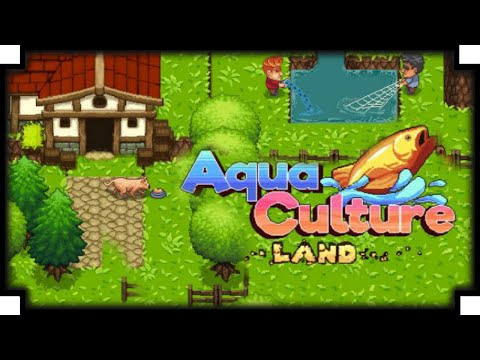 Aquaculture Land - (Fish Tycoon Game)