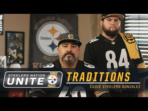 Traditions: Eddie Steelers Gonzalez | Steelers Nation Unite