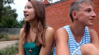 Ульяна и Колян - Я Малолетняя дочь(девушка класно поёт)
