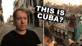 American traveling to Cuba   First Impressions