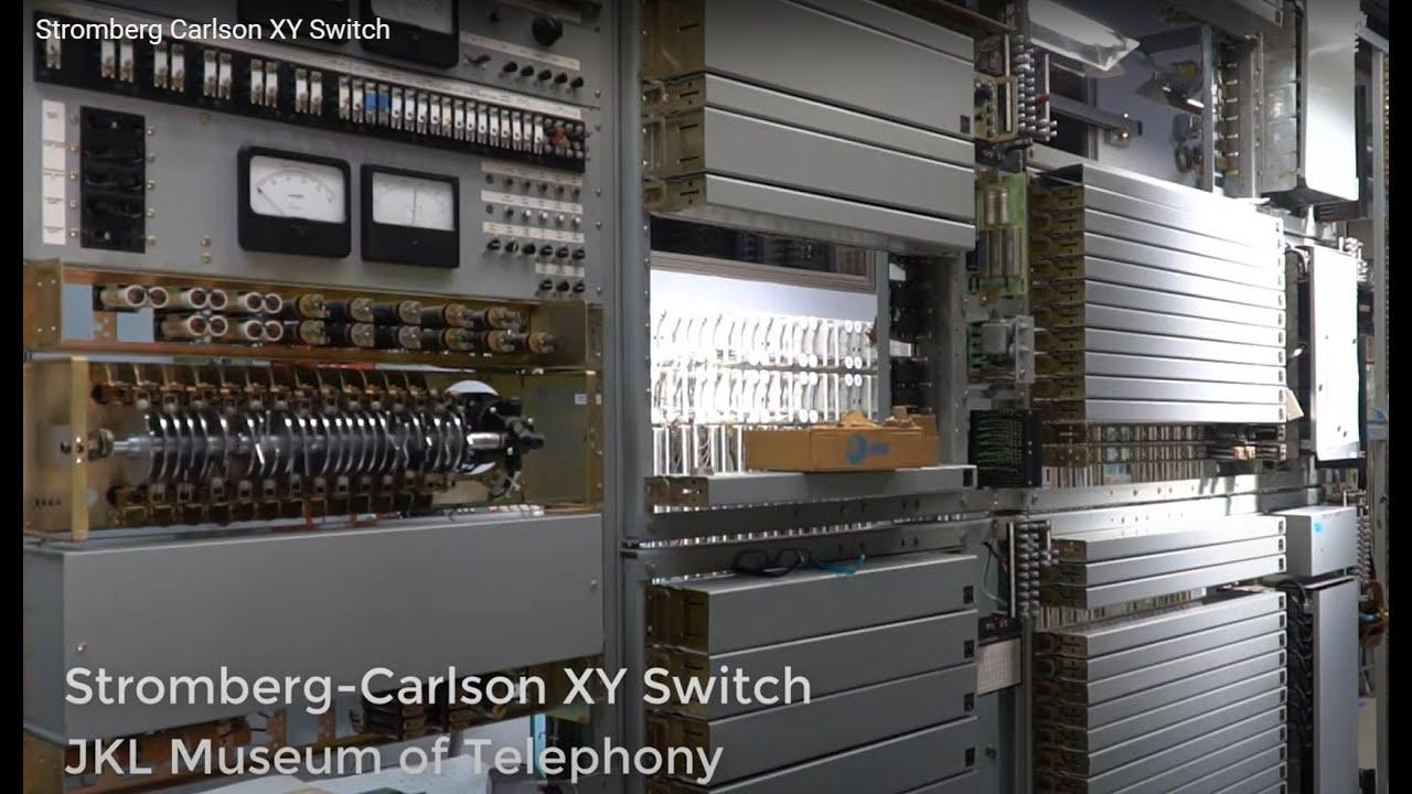 Stromberg Carlson Xy Switch Youtube Telephone Switcher