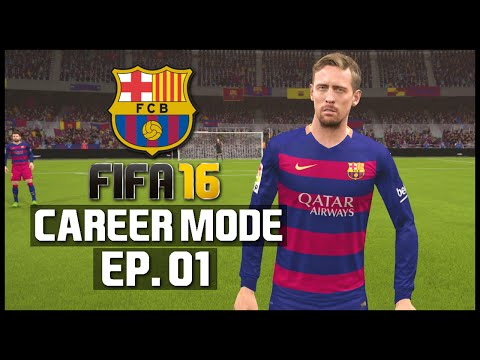 FIFA 16 | Barcelona Career Mode - 'PETER CROUCH!' | #01
