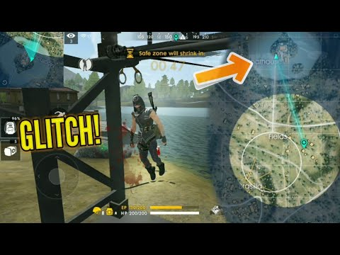 How to not Die OUTSIDE the Safe Zone! (Glitch) - Garena Free Fire