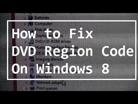 How to Fix DVD Region Codes on Windows 8