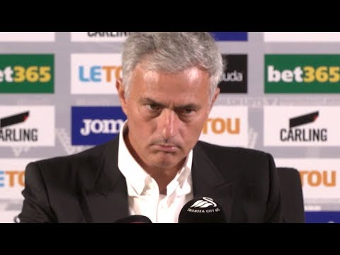 Jose Mourinho: 'THE TEAM IS CONFIDENT!' Swansea City 0-4 Manchester United FULL PRESS CONFERENCE