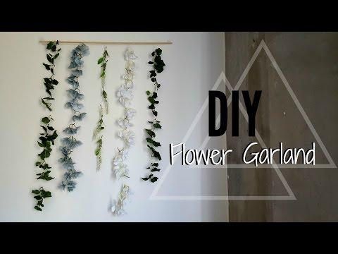 DIY FLOWER GARLAND | Teenyandrea