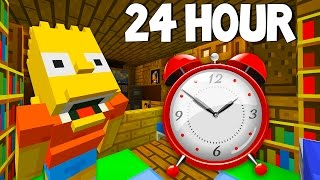 Video Bart Simpson Gets Buried Alive | 24 Hour Challenge | The Simpsons |  Minecraft Xbox [50] download MP3, 3GP, MP4, WEBM, AVI, FLV Mei 2018