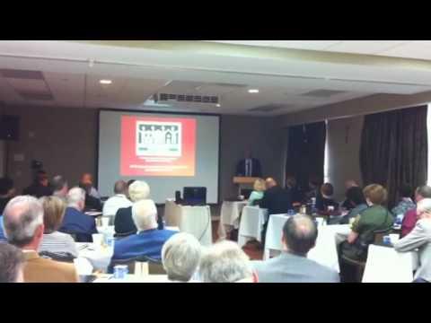 White House Deputy Dir Richard Claypoole speaking about Che