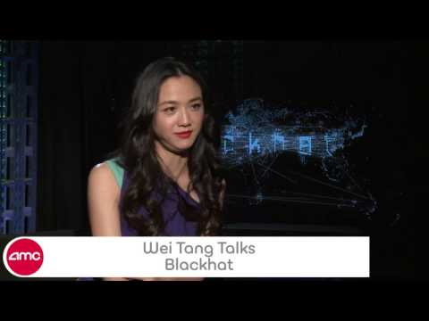Wei Tang Chats BLACKHAT  AMC Movie
