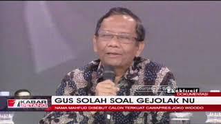 Gus Solah Angkat Bicara Soal Gejolak NU Usai Pernyataan Mahfud MD
