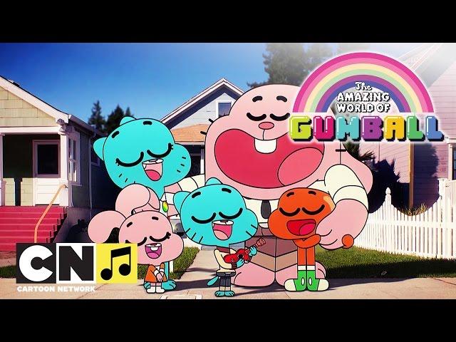 De Wonderlijke Wereld van Gumball ♫ Raar zoals jij en ik ♫ Cartoon Network