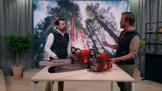 The unveiling of 90cc chainsaws: Introducing new Husqvarna 592 XP® and 585