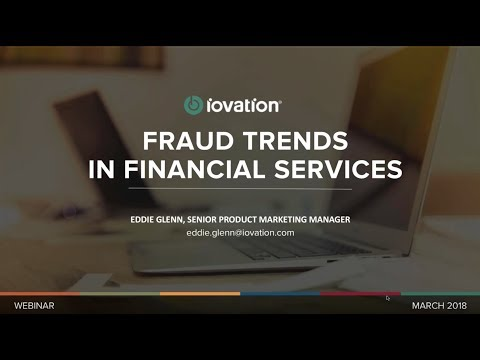 Lunch and Learn: Fraud Trends in Financial Services