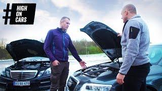 Ulla skal have ny bil - Mercedes E63 AMG eller Audi RS6? - High on Cars