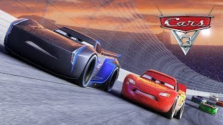 Cars 3 Driven to Win Fabulous VS Lightning Mcqueen VS Jackson Storm & Cruz Ramirez