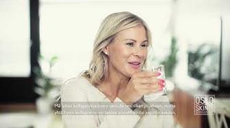 Anna Saivosalmi testaa kollageenijauhetta