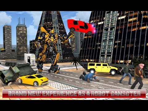 Robots Gangsters (By Creative Games Studios) Android Gameplay HD