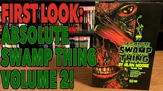 FIRST LOOK: Absolute Swąmp Thing by Alan Moore Vol. 2