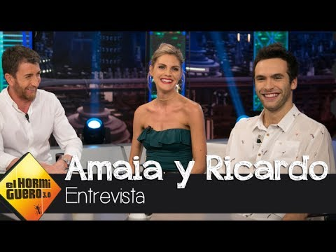Amaia Salamanca confiesa por qué 'suplantó la identidad' de una famosa cantante  El Hormiguero 3.0