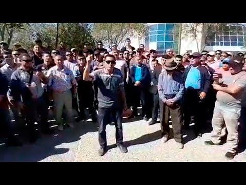 Жесткие требования в лицо власти. Митинг в Жанаозене продолжается. 2.09.2019 / БАСЕ