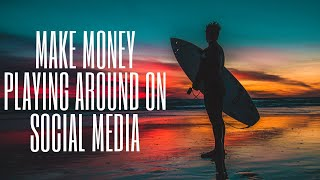 Get Paid To Play Around On Facebook Instagram & Twitter