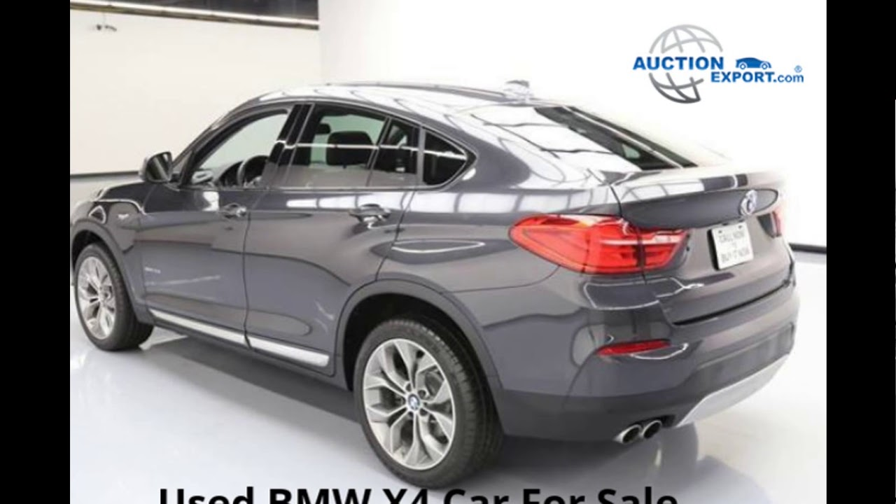 Used BMW X4 For Sale in USA, Worldwide Shipping - YouTube