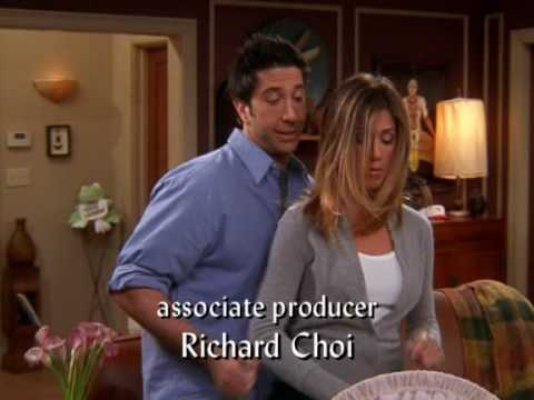 Friends...Ross and Rachel Singing Baby Got Back To Emma.. Lol