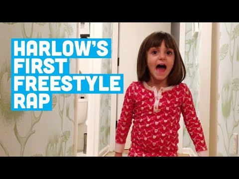 Harlow's First Freestyle Rap